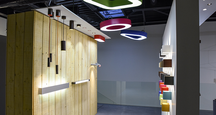 Le showroom de luminaires de Reims #1